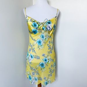 IVY & ANNABELLE Vintage Yellow Floral Chemise